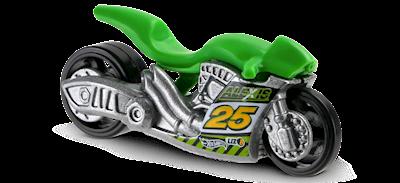 Moto da Hot Wheels - Carrinho Hotwheels