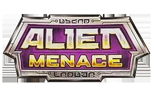 Nerf Alien Menace Logo