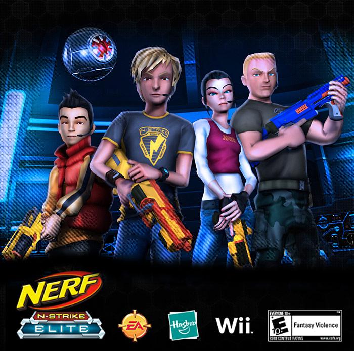Nerf Game Jogo
