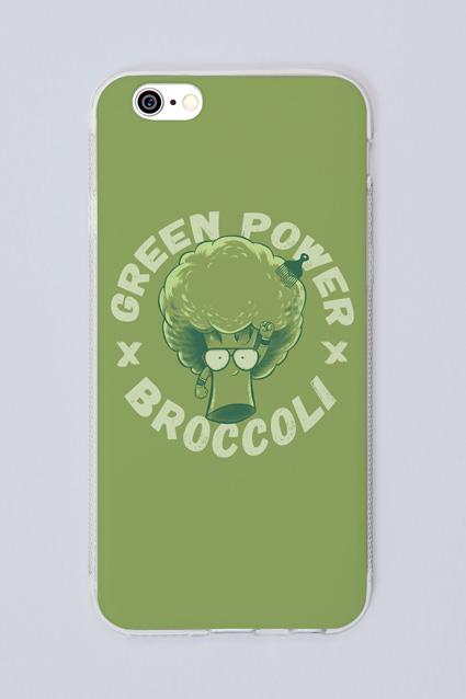Capa Celular Brancoala Brócolis - Loja Oficial