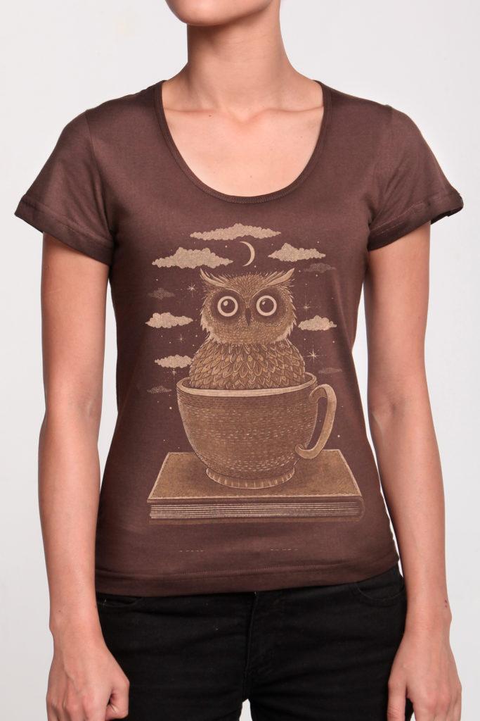 Camiseta Masculina Brancoala Café - Loja Oficial