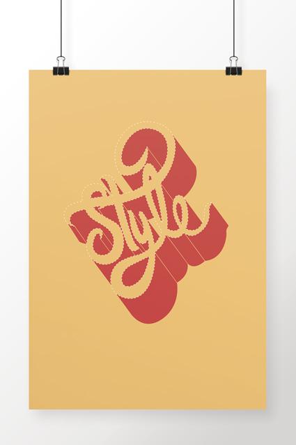 Poster Brancoala Style - Loja Oficial