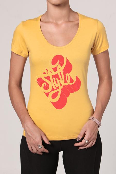 Camiseta Feminina Brancoala Style - Loja Oficial