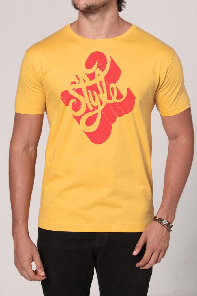 Camiseta Masculina Brancoala Style - Loja Oficial